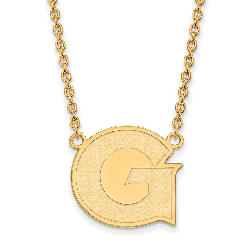 NCAA Gold-Plated Sterling Silver Georgetown University NCAA Necklace