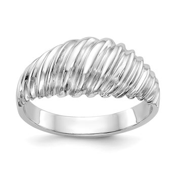 14k White Gold Fancy Ring