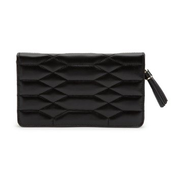Caroline Jewelry Portfolio, black leather