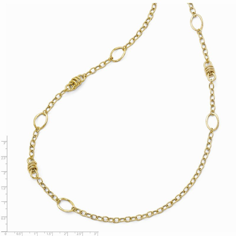 Leslie's Leslie's 14k Polished Fancy Link Necklace