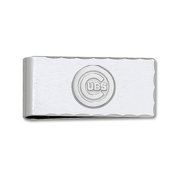 Sterling Silver Chicago Cubs MLB Money Clip