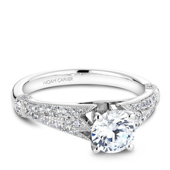 Noam Carver Vintage Engagement Ring B064-01A
