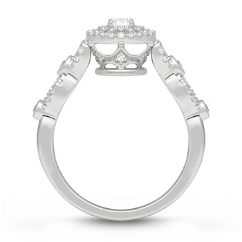 BLANCHE CROWN RING