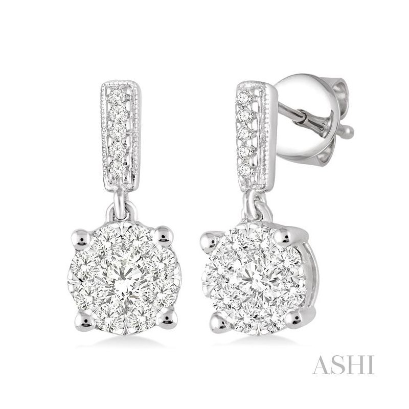 Barclay's Signature Collection lovebright diamond earrings