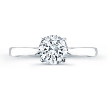 Tess Round Engagement Ring
