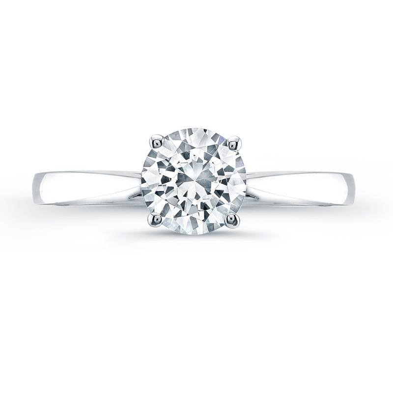Jeff Cooper Tess Round Engagement Ring