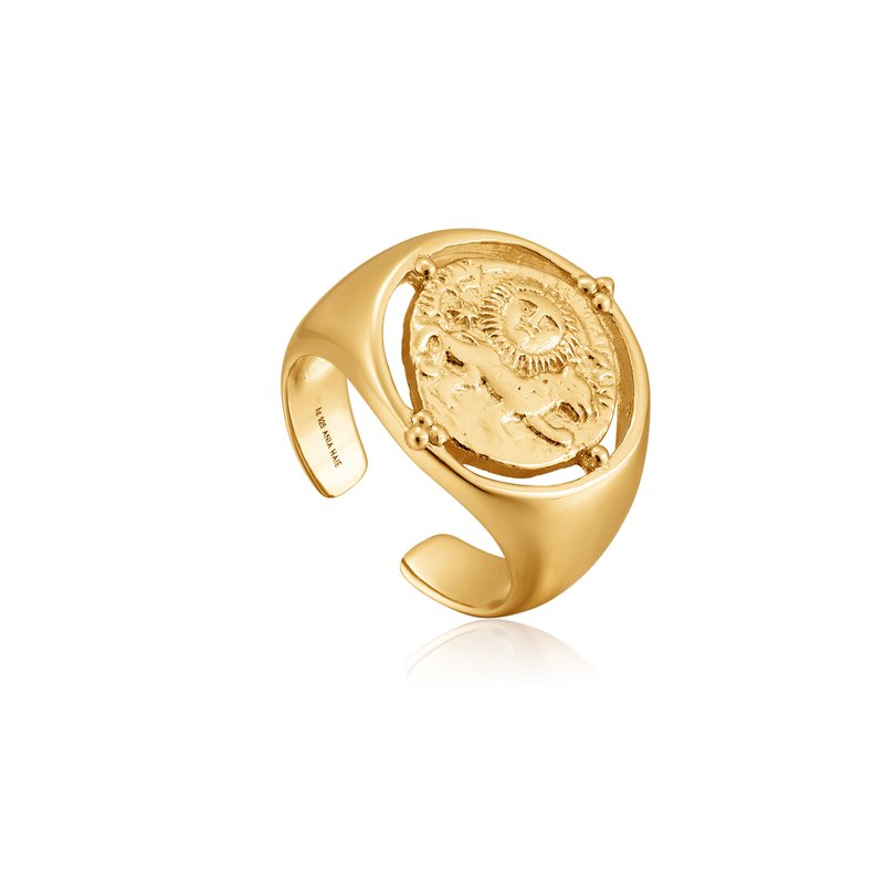 Ania Haie Seljuks Signet Adjustable Ring