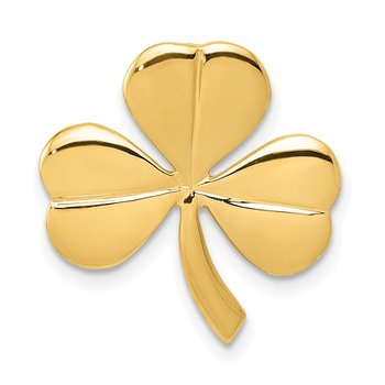 14k Shamrock Chain Slide