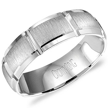 CrownRing Men's Wedding Band WB-9410