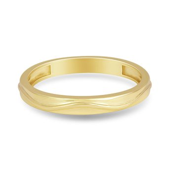14K YG Wedding or Anniversary Band