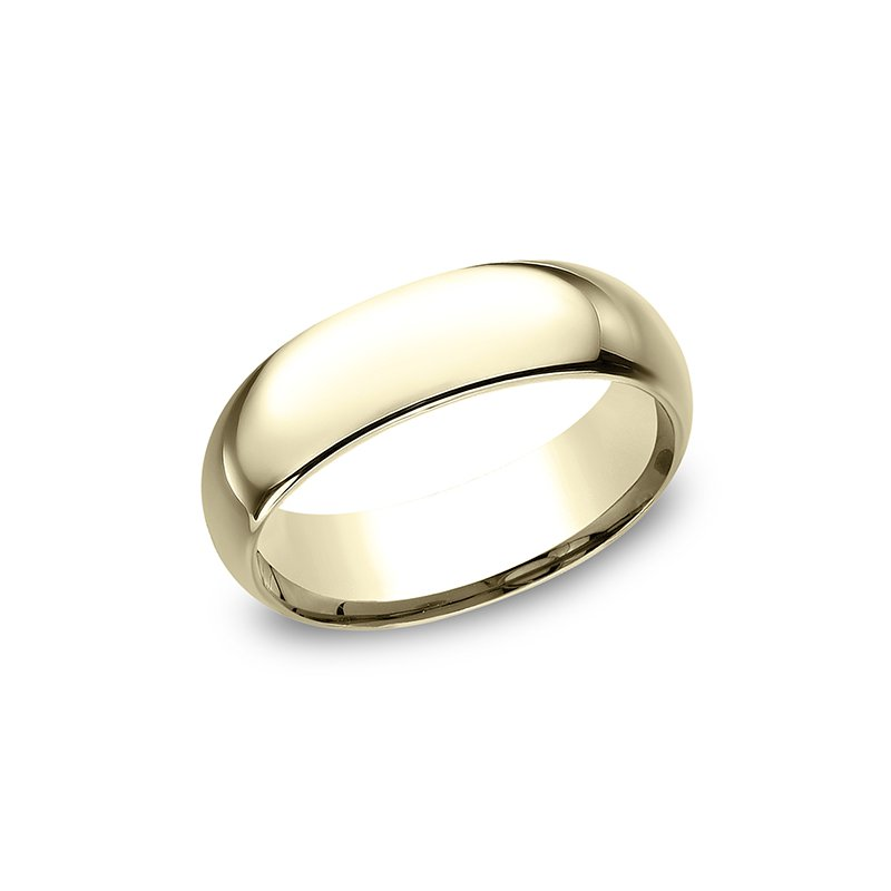 Benchmark Standard Comfort-Fit Wedding Ring