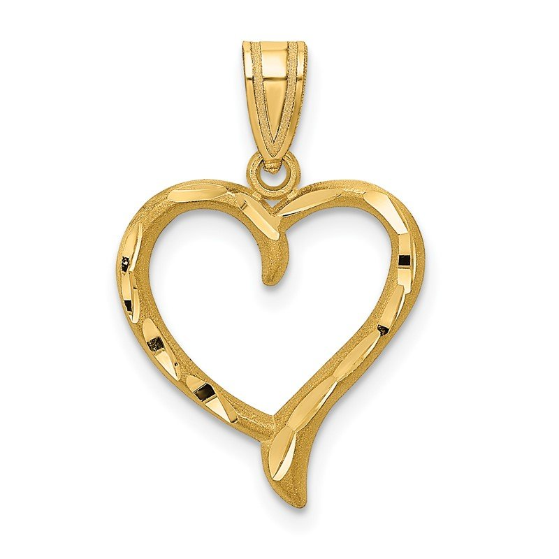 Lester Martin Online Collection 14K Polished Heart Pendant