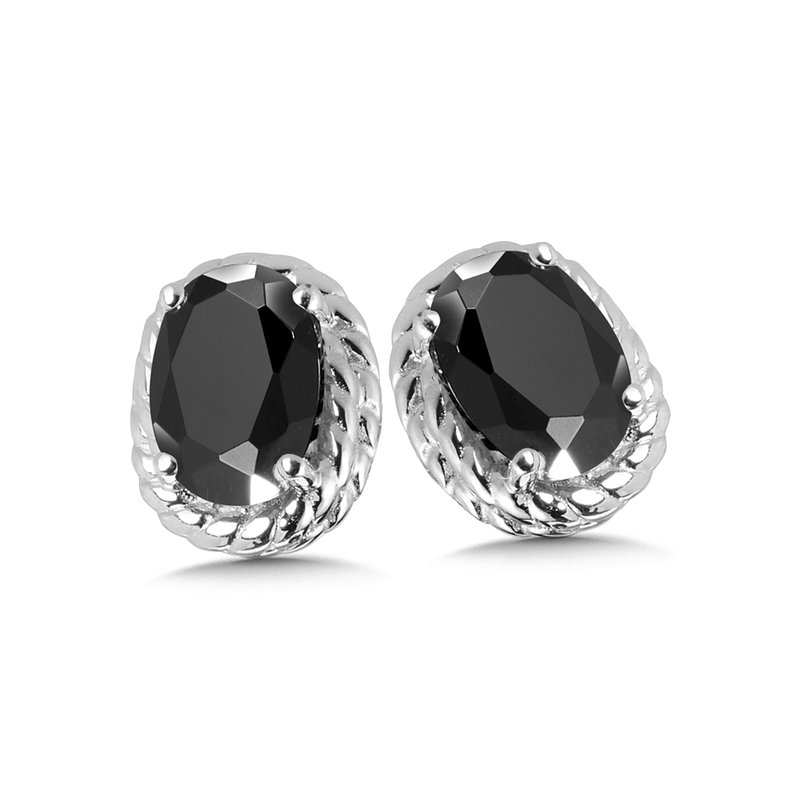 SDC Creations Onyx Earrings in Sterling Silver