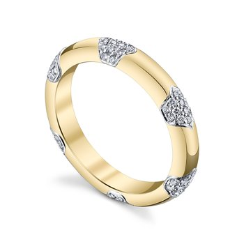 The Yellow Gold Lace Band