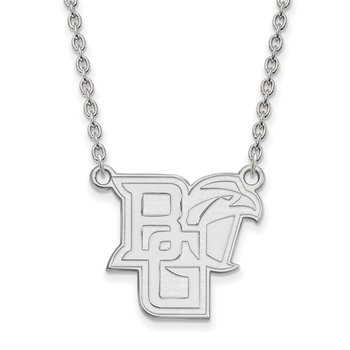 Gold Bowling Green State University NCAA Necklace