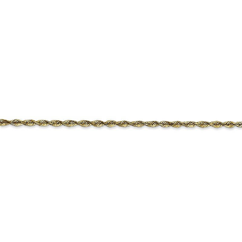Leslie's Leslie's 10K 2.00mm Diamond-Cut Lightweight Rope Chain