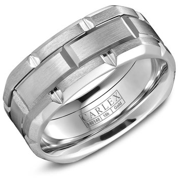 Carlex G1 Men's Wedding Band CX1-0001WW