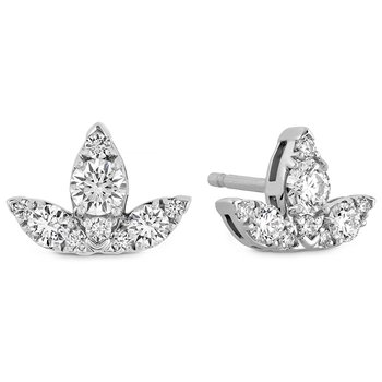 0.6 ctw. Aerial Triple Diamond Stud Earrings - S