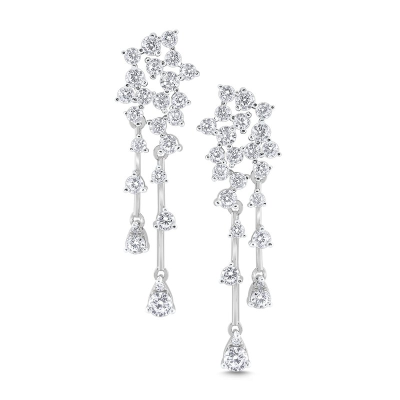 KC Designs 14k Gold and Diamond Fashion Earrings