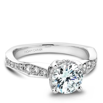 Noam Carver Regal Engagement Ring B020-02A