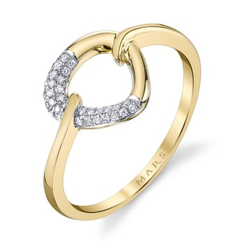 MARS 26805 Fashion Ring, 0.10 Ctw.
