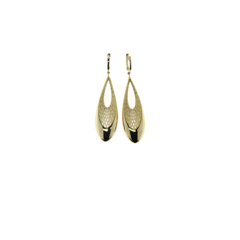 Roberto Coin 18Kt Teardrop Shape Dangling Earring