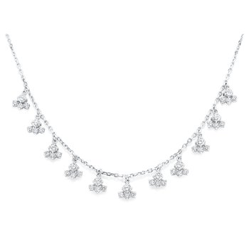 14K Diamond Fashion Necklace