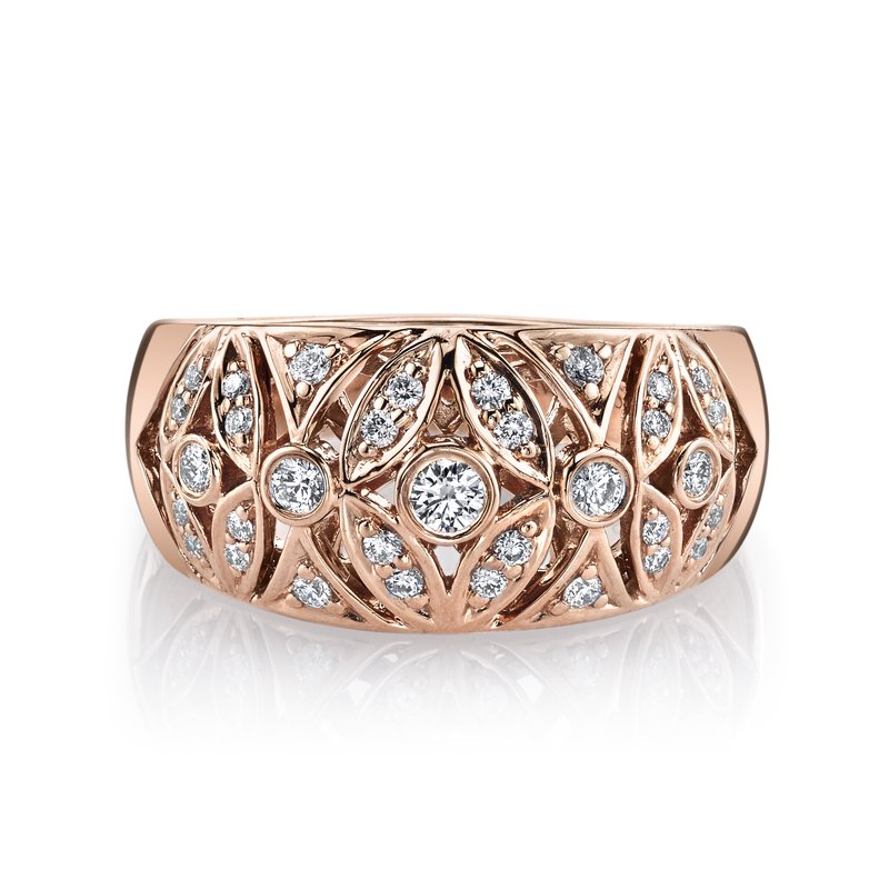 MARS Jewelry MARS 26583 Fashion Ring, 0.36 Ctw.