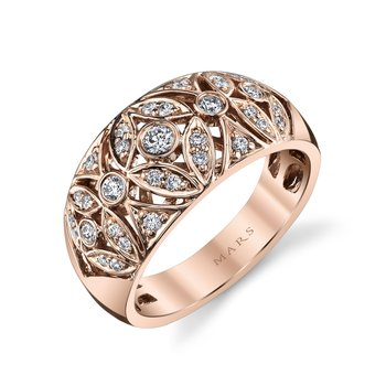 MARS 26583 Fashion Ring, 0.36 Ctw.