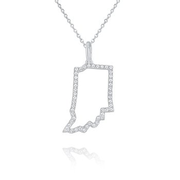 14k Gold and Diamond Mini Indiana Necklace