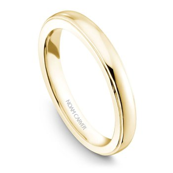 Noam Carver Wedding Band B026-01YB