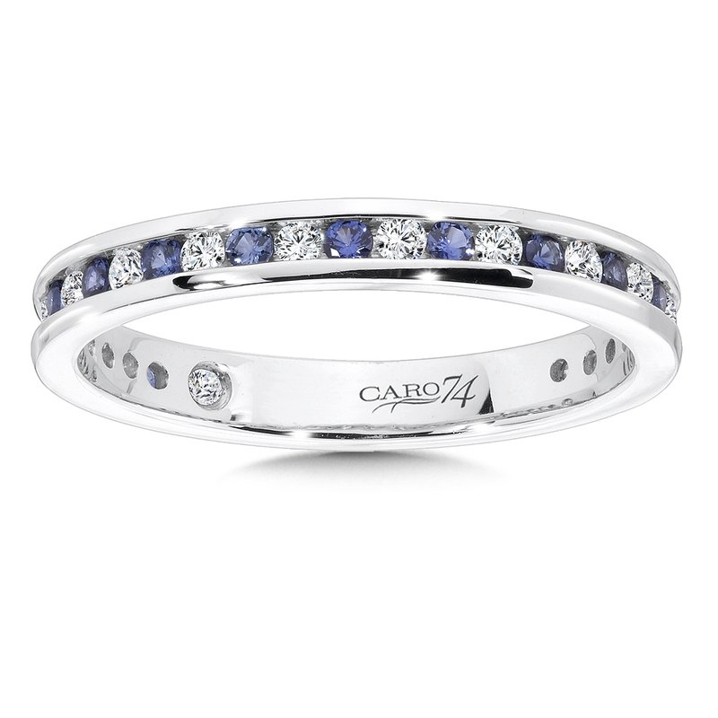 Caro74 CARO 74 Eternity Band (Size 6.5) in 14K White Gold (0.255ct. tw.)
