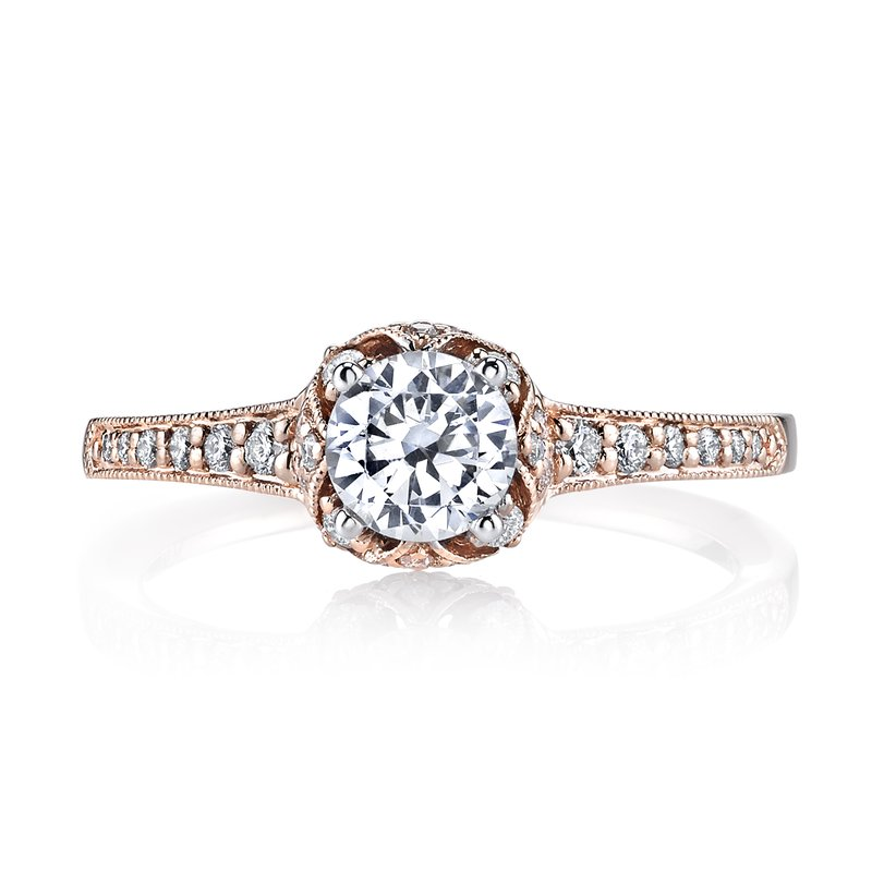 MARS Jewelry MARS 25802 Diamond Engagement Ring, 0.27 ct tw
