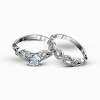 Simon G TR473 WEDDING SET