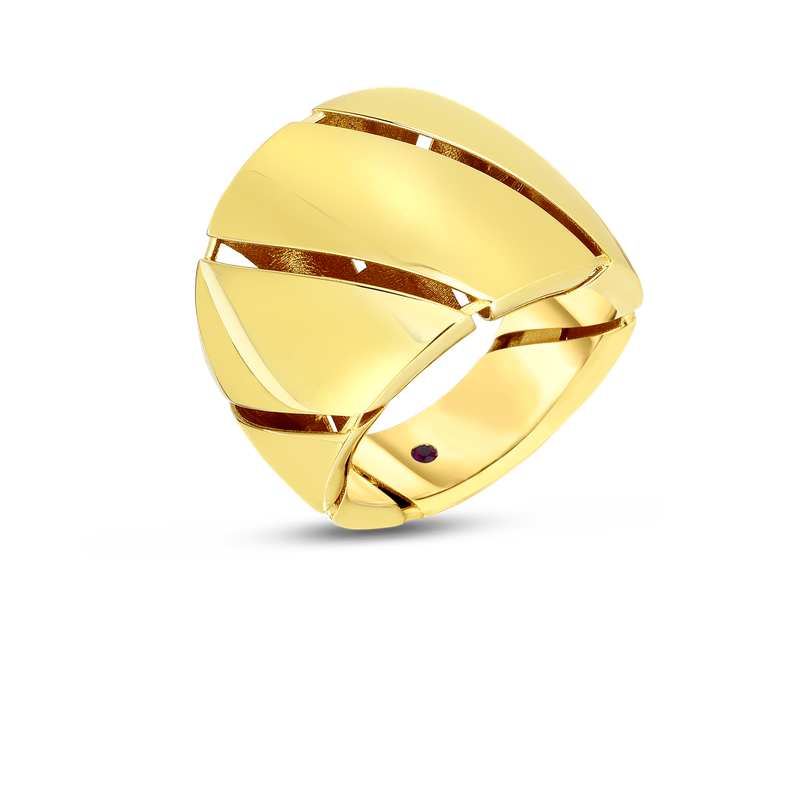 Roberto Coin  #28749 Of 18Kt Gold Ring