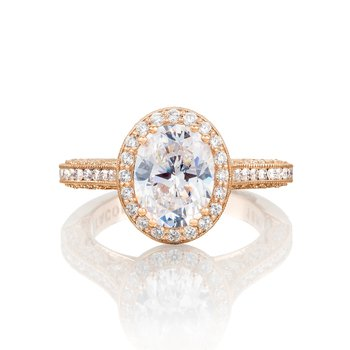 Pretty in Pink Collection Classic Engagement Ring