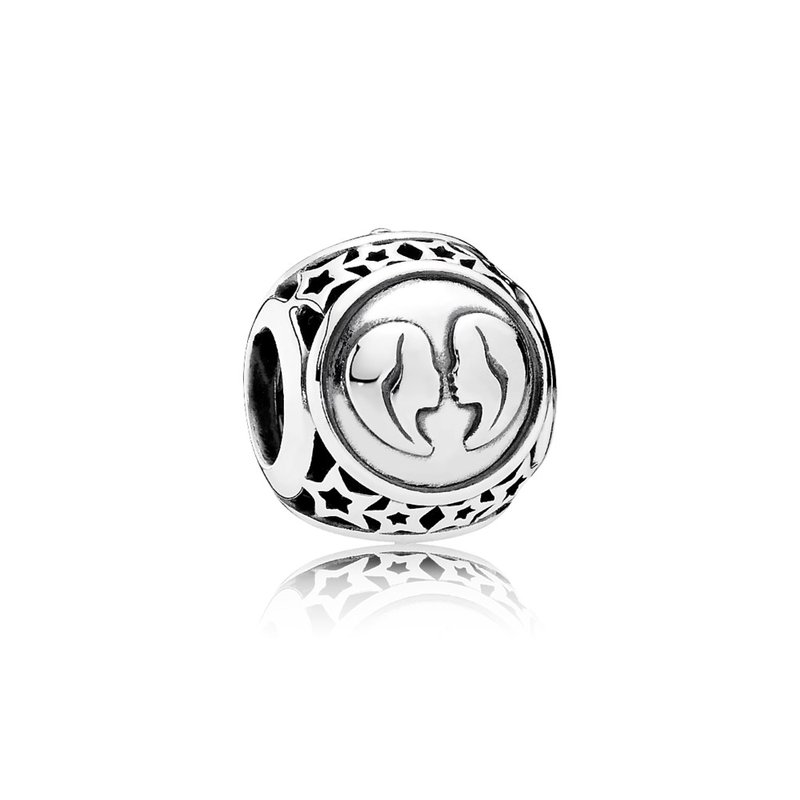 PANDORA Gemini Star Sign Charm