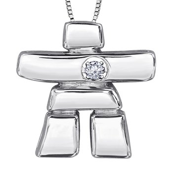 Inuit Ice™ Canadian diamond Pendant