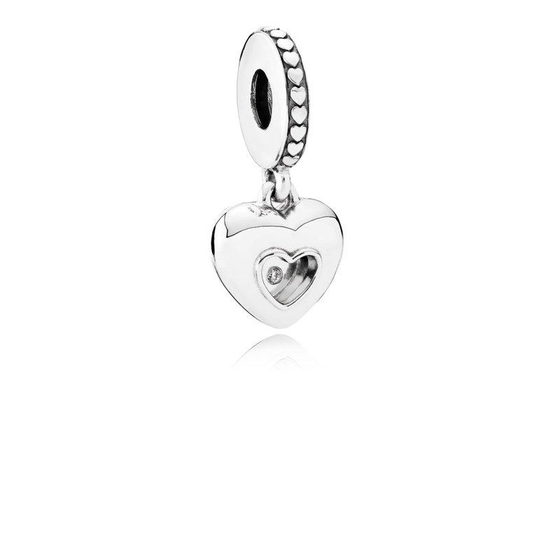 Pandora Club Charm 2018 0 01ct Tw H Vs Diamond