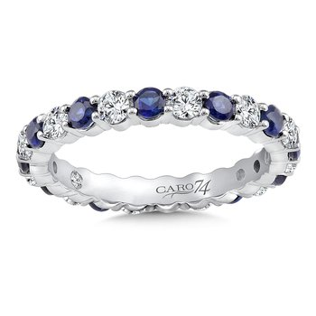 Eternity Band (Size 6.5) in 14K White Gold (0.75ct. tw.)