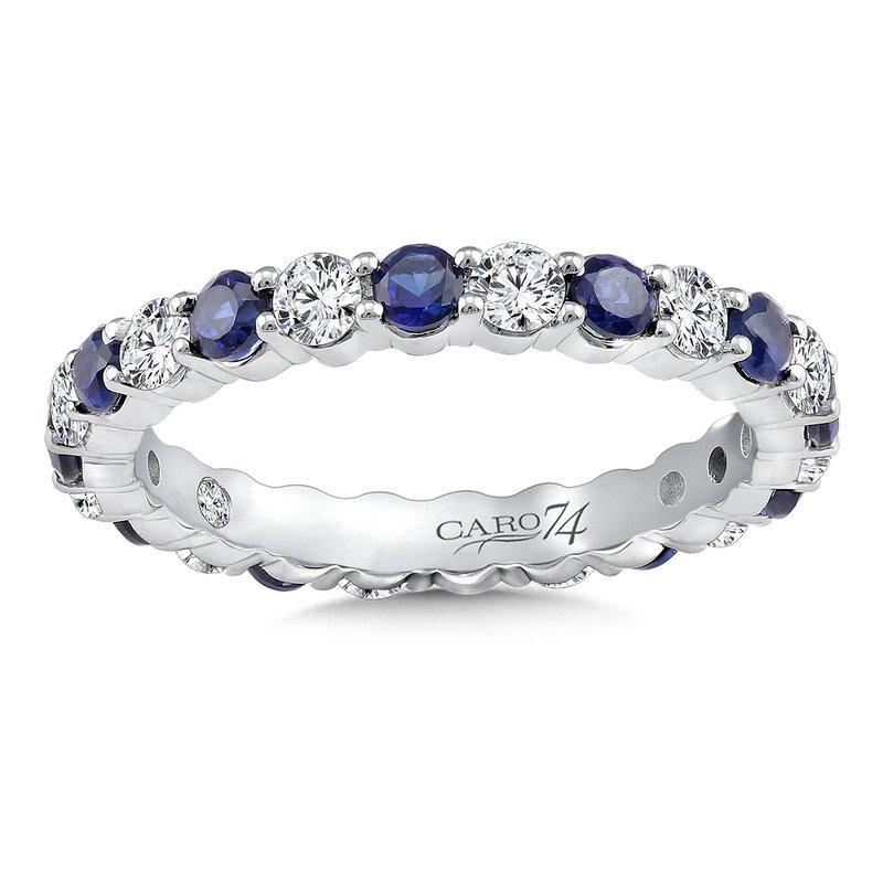 Caro74 Eternity Band (Size 6.5) in 14K White Gold (0.75ct. tw.)