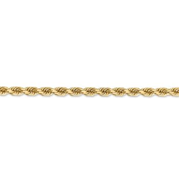 Leslie's 14K 4.5mm Diamond-Cut Rope Chain
