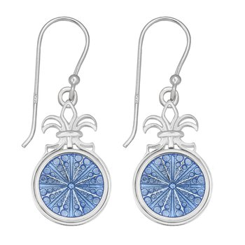 Kameleon Fleur de Lis Earrings