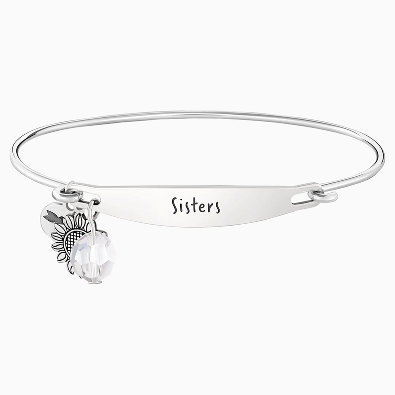 Swarovski Sisters ID Bangle