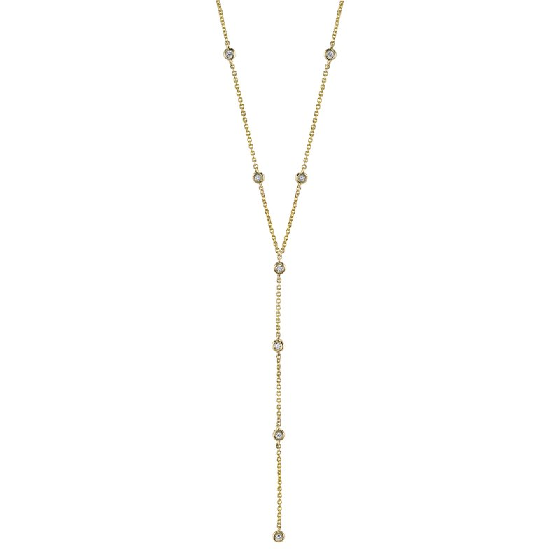 MARS Jewelry MARS 26821 Fashion Necklace, 0.17 Ctw.