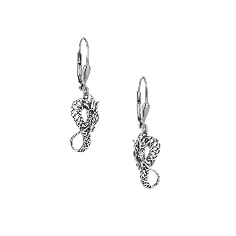 Keith Jack Dragon Earrings
