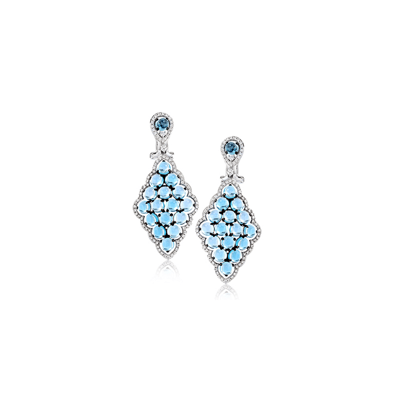 Zeghani ZE591 COLOR EARRING