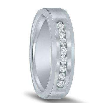Men's 1/3 Carat Diamond Wedding Band ND00099 by Novell