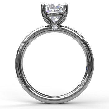 Classic Cushion Cut Solitaire