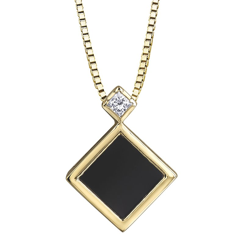 Timeless Beauty Onyx Pendant